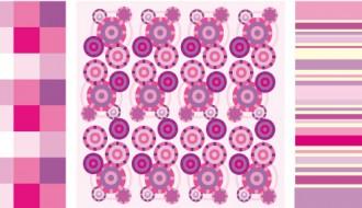 pattern geometrici rosa – pink geometric pattern
