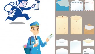 postini, buste e lettere – postmen, envelopes and letters