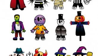 personaggi di Hallowwen – Halloween characters