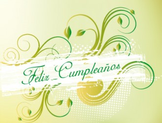 buon compleanno – feliz cumple – happy birthday card