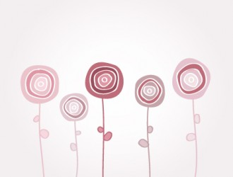 fiori stilizzati – stylized flowers_1