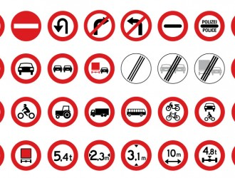 segnali stradali di divieto – road prohibited signs
