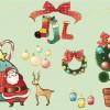 elementi natalizi – Christmas elements