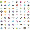 icone e loghi vettoriali – icons and vector logotypes
