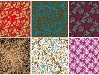 pattern damascati floreari – floral damask pattern