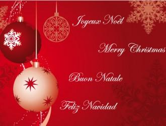 Joyeux Noel – Merry Christmas – Buon Natale – Feliz Navidad