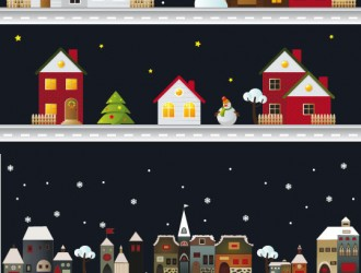 case in inverno – houses in winter