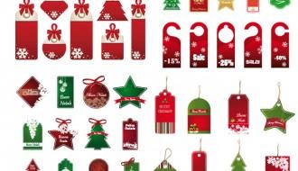 targhette Natale – Christmas tags