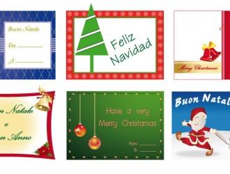 6 bigliettini di Natale – 6 Christmas cards