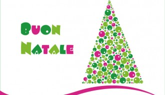 albero di Natale con bolle – Christmas tree with bubbles