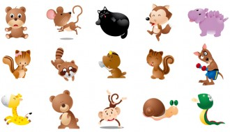 animali vari – animal set_4