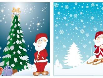 bigliettini Babbo Natale – Santa Claus cards_1