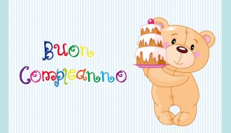 buon compleanno orsetto – happy birthday bear