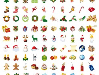 icone natalizie – Christmas icons_3