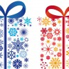 regali con fiocchi di neve – gifts with snowflake
