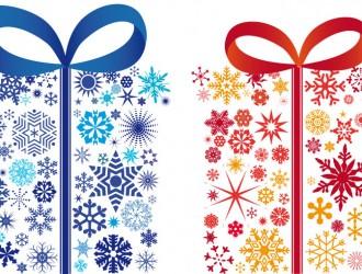 Regali con fiocchi di neve gifts with snowflake for Sito regali gratis