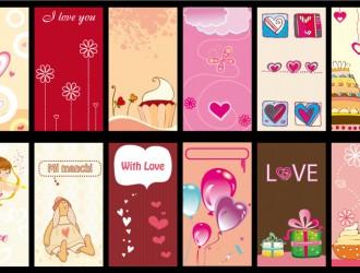 12 bigliettini amore – love cards