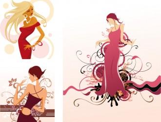 3 sagome donne – women silhouettes