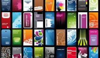 36 biglietti da visita – business cards