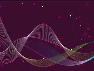 sfondo astratto con linee grafiche – abstract background with graphic lines