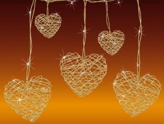cuori dorati – golden hearts