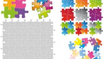 puzzle colorati – colorful puzzle