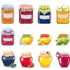 barattoli marmellata e miele – honey and jam jars