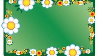 cornice floreale – floral frame_8