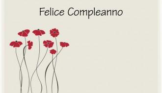 felice compleanno fiori – happy birthday flowers