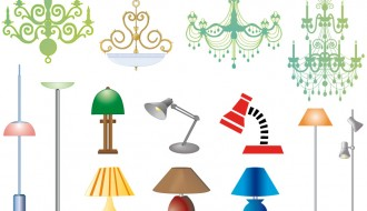 lampadari e lampade – chandeliers and lamps