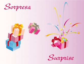 regalo sorpresa – surprise gift