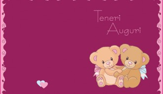teneri auguri – love greetings card