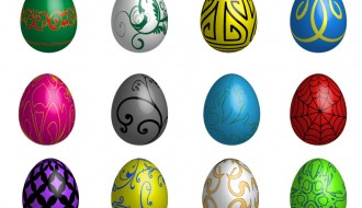 uova di Pasqua decorate – decorated Easter Eggs_2