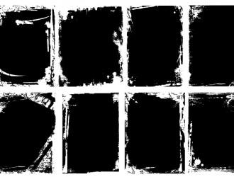 8 cornici grunge – grunge bordes frames
