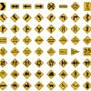 80 segnali stradali – road signals
