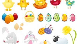 elementi pasquali – Easter elements