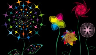 fiori astratti – abstract flowers