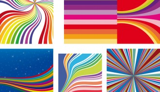 sfondi con linee colorate – colorful lines background