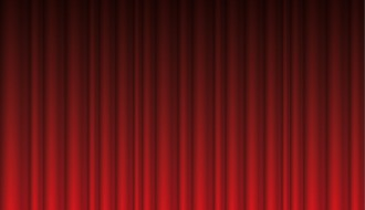 sipario rosso – red curtain background