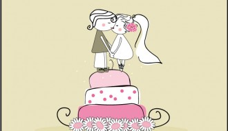 sposini su torta – newlyweds on cake