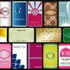 18 bigliettini da visita – business cards