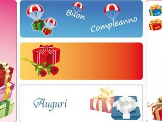 5 banner regali – gifts banner