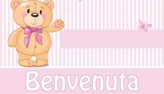benvenuto neonata orsetto – newborn welcome bear