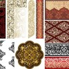 decorazioni damascate – damask ornaments