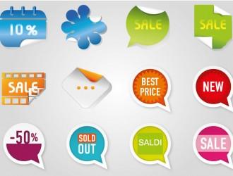 12 etichette saldi – sale labels