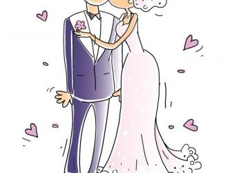 sposini viola – purple newlyweds