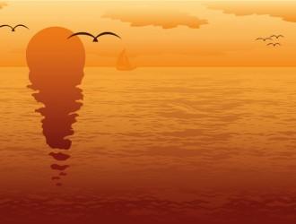 tramonto al mare – sea sunset