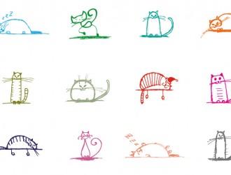 12 gatti – cats