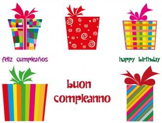 5 regali buon compleanno – 5 gifts happy birthday