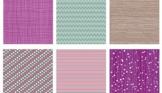 6 pattern strisce e pois – pattern stripes and polka dots